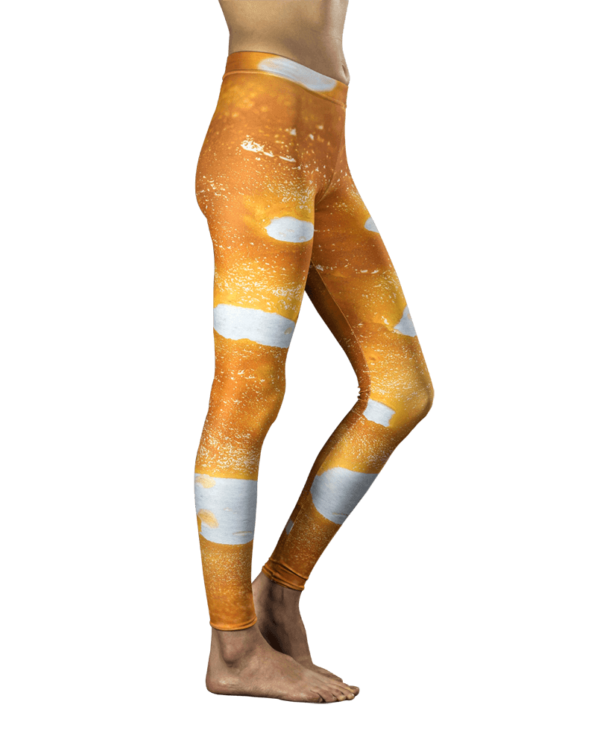 Citrine Dream Cannabis Leggings