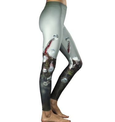 Trichome Splash Cannabis Leggings